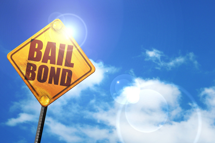Bail bonds amount and payment