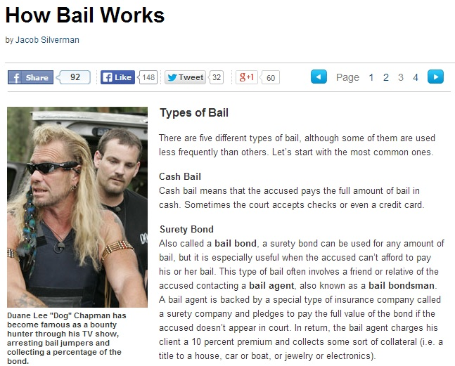 How Bail Works